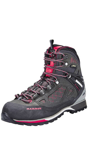 Mammut Alto High GTX Shoes Women graphite-light carmine